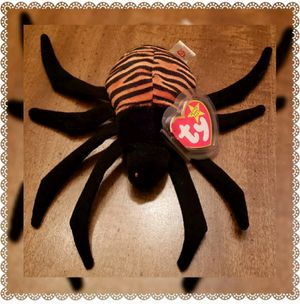 "*RARE ODDITY* Ty Beanie Baby Spinner ""Creepy"" Tush Tag Handmade in Indonesia for Sale in Radcliff, KY"