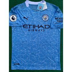 2020/21 Manchester City soccer jersey for Sale in Raleigh,  NC