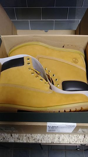 ✨TIMBERLAND PREMIUM 6INCH WATERPROOF BOOT··WHEAT NUBUCK COLOR·· MENS SIZE 12✨ for Sale in Lyons, IL