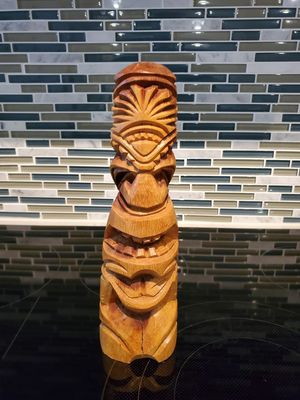 Hawaiian Totem Pole Hand Carved for Sale in Silver Spring, MD