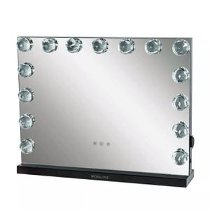 Hollywood Vanity Diamond Lights Makeup Mirror 23x17 for Sale in Orlando, FL
