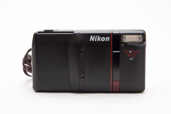 Nikon Tele Touch 300 AF 35mm Film Camera!