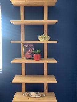 Hanging wood shelf Unit for Sale in Seattle,  WA