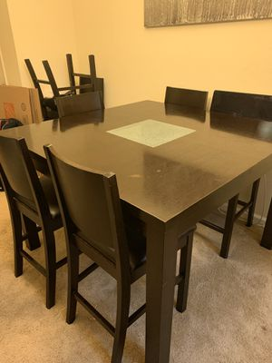 8 Seat Dining Bar Height Dining Table for Sale in Virginia Beach, VA