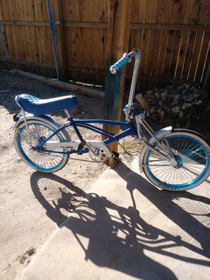 Low rider bike. Blue $300 obo for Sale in Las Vegas, NV