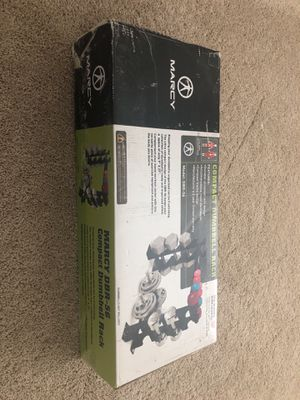 Marcy DBR-56 compact Dumbbell rack. Unopened box for Sale in Pittsburgh, PA