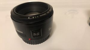 Canon 50mm and Opteka 85mm manual lens for Sale in Gilbert, AZ
