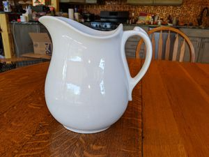 J & G Meaken Ironstone China Pitcher for Sale in Tyler, TX