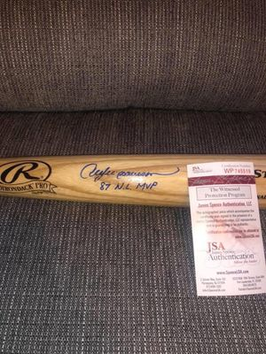 Andre Dawson Autographed Baseball Bat for Sale in Newton, MA