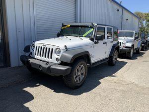 2014 Jeep Wrangler for Sale in Fresno, CA