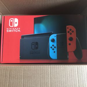 Brand New Nintendo Switch 32 GB Both colors available for Sale in Fresno, CA