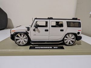 Diecast Model Hummer H2 Jada Toys 1:18 for Sale in Prescott Valley, AZ