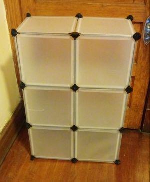 Cube Bookcase white for Sale in Chicago, IL