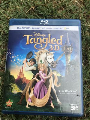 Tangle 3d bluray for Sale in Anaheim, CA