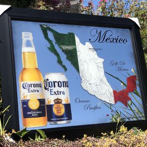 "Corona Extra Mexico Map Beer Bar Mirror ""New"" Man Cave for Sale in Monterey Park, CA"