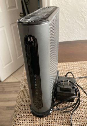 Motorola cable modem plus AC1900 Router model MG7550 for Sale in Hollywood, FL