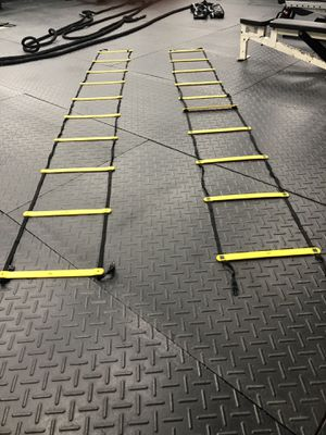 Fitness Equipment - ladders , ropes, and boxing gloves with wraps for Sale in Tampa, FL