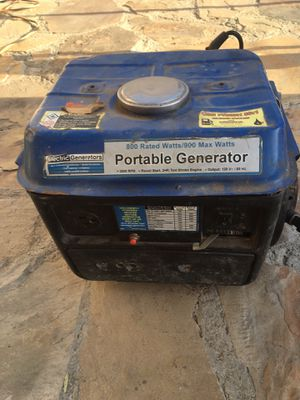 Chicago electric generator 800/900 max watts for Sale in Compton, CA
