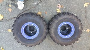 Z400 tires and rims for Sale in Waltham, MA
