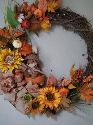 Fall Door Wreath for Sale in Tampa, FL