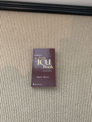 Marino's The Little ICU Book for Sale in Farmington, CT