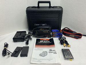 JVC GR-AX70U VHS C Camcorder Video Movie Camera Transfer Bundle Tested for Sale in Pelham, NH