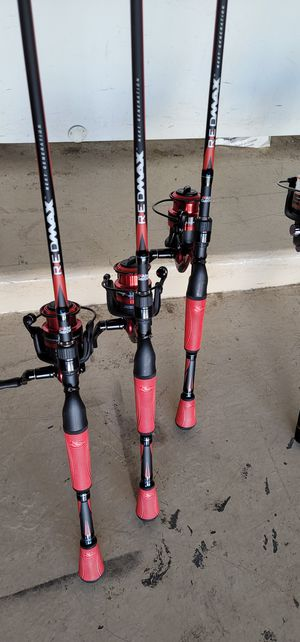 Fishing rod and reel combo.abu GARCIA...brand new.never use for Sale in Peoria, AZ