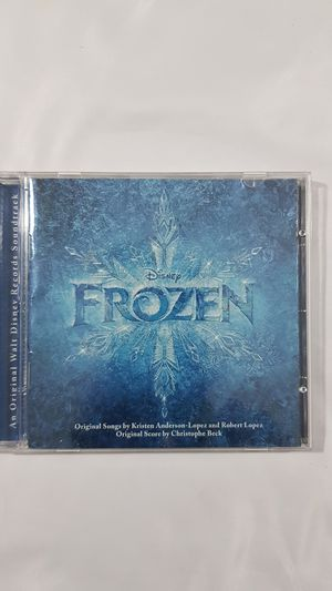 Frozen movie soundtrack Cd with booklet for Sale in Winter Springs, FL