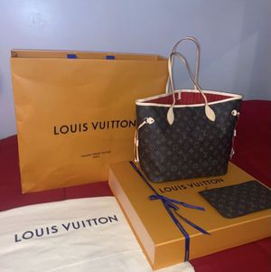 100% AUTHENTIC LOUIS VUITTON NEVERFULL BAG for Sale in Haddon Township, NJ