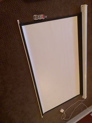 Projector w/ Screen for Sale in Euless, TX