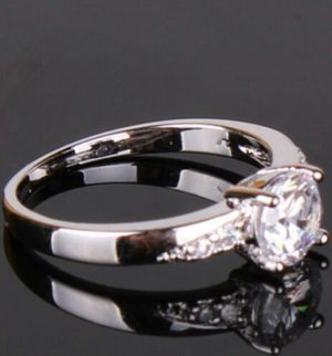 18kt white gold filled ring 7 for Sale in Alexandria, VA