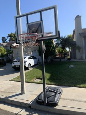Portable and adjustable height Basketball hoop for Sale in Yorba Linda, CA