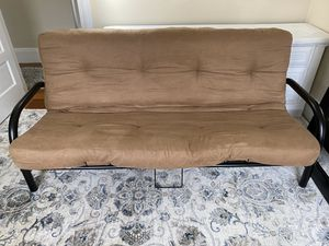 Futon Frame and Mattress for Sale in Dover, MA