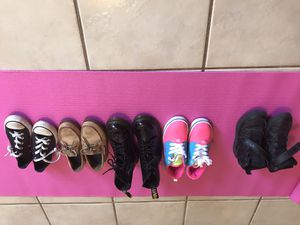 Kids shoes (sold together) sizes 12-1 for Sale in Brownsville, TX