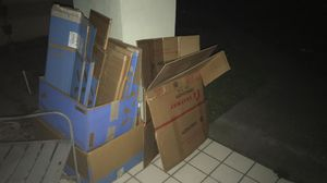 FREE Packing Moving Storage Boxes FREE for Sale in Spring Hill, FL