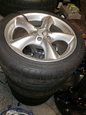 Rims and tires for C230 C320 Benz for Sale in Lee's Summit, MO