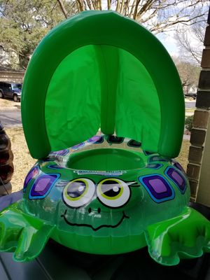 SwimSchool Sea Turtle Inflatable Baby Boat (used) for Sale in San Antonio, TX