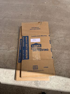 Moving boxes - Free for Sale in Los Alamitos, CA
