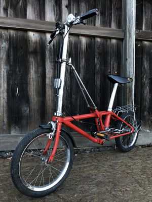Vintage Dahon Folding Bicycle 3 Speed Tern. Brompton. for Sale in Fremont, CA