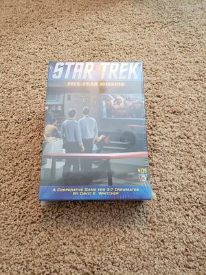 Star Trek Five Year Mission board game NEW sealed for Sale in Washington, PA