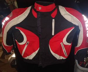 Medium Suzuki motorcycle jacket for Sale in Columbus, OH