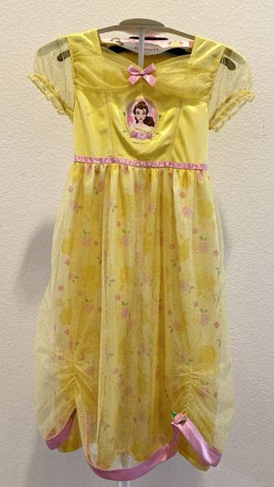 New Disney Princess Belle kid Halloween costume size 6 for Sale in Fontana, CA