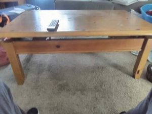 Folding/liftable Picnic Table like coffee table for Sale in Charleston, WV