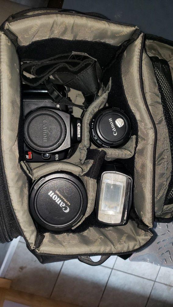 Canon EOS Rebel XT camera