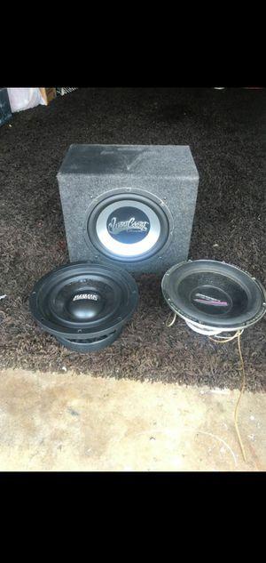Car Speakers Sundown Audiobohn etc.. for Sale in Huntington Beach, CA