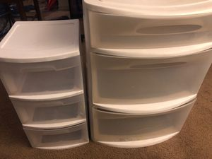 Plastic Drawers for Sale in Garden Grove, CA