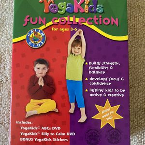 Yoga Kids 2 DVD Set for Sale in Beverly Hills, CA