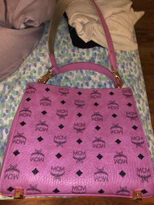 MCM hot pink shoulder bag for Sale in Philadelphia, PA
