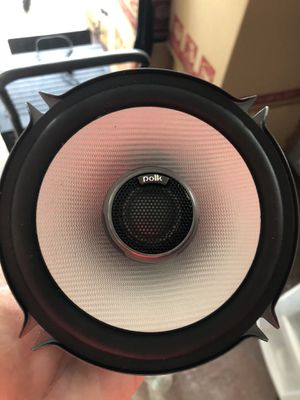 Car stereo speaker Polk audio for Sale in Pompano Beach, FL