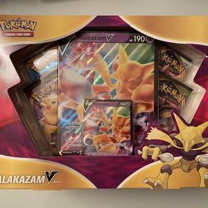 Alakazam V Box for Sale in Las Vegas, NV
